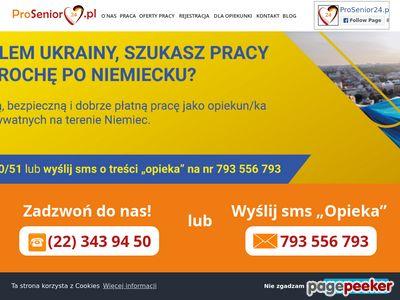 Praca w Niemczech - prosenior24.pl
