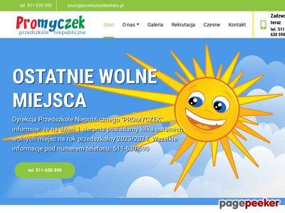 PROMYCZEK Przedszkole Niepubliczne Bielsko-Biała