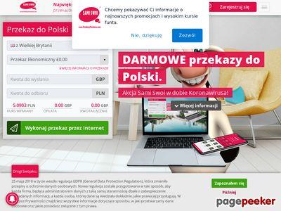 Przelewy do Polski