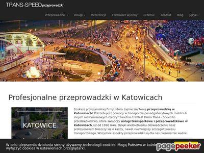 Przeprowadzki Katowice, przewóz mebli Katowice.