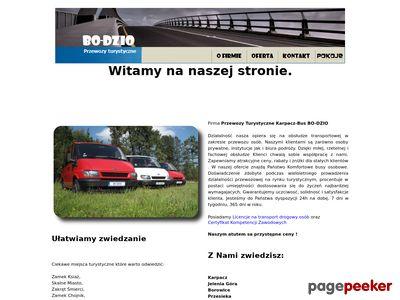 Przewozy Turystyczne Karpacz-wycieczki krajowe