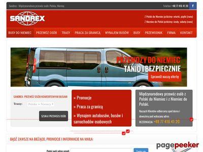 Wynajem busów Wrocław, bus z Polski do Niemiec
