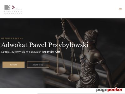 Kancelaria Adwokacka Adwokat Paweł Przybyłowski