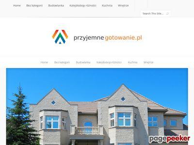 Przyjemnegotowanie.pl – akcesoria kuchenne