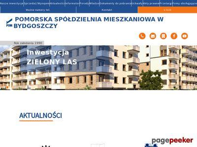 Sprzedaż mieszkań w Bydgoszczy