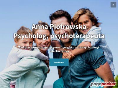 Anna Piotrowska - Pomoc psychologiczna