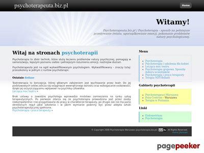 Psychoterapeuta Warszawa