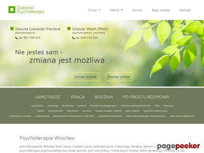 PSYCHOTERAPIA Wrocław - PSYCHOLOG Wrocław - GABINET PSYCHOTERAPII Wrocław
