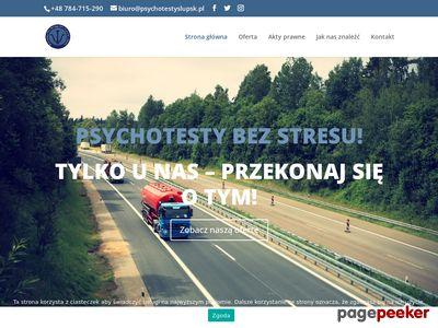 Badania kierowcow Slupsk