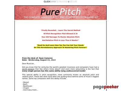 Pure Pitch Method – Master Absolute Pitch & Relative Pitch
