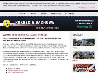 Dachy Kielce - PHU Quest