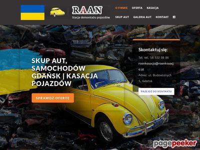 RAAN Auto szrot Gdańsk