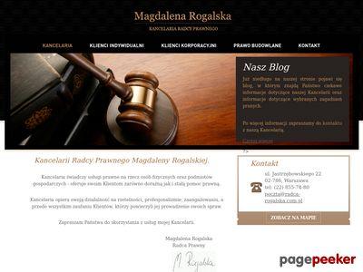 Adwokat Warszawa - Rogalska