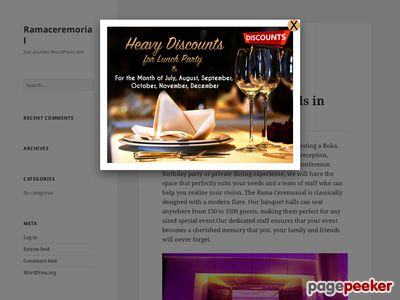 Rama Ceremonial | Wedding and Event Planner