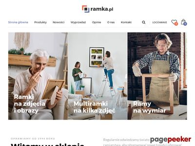 Ramki na zdjęcia o obrazy - Ramka.pl