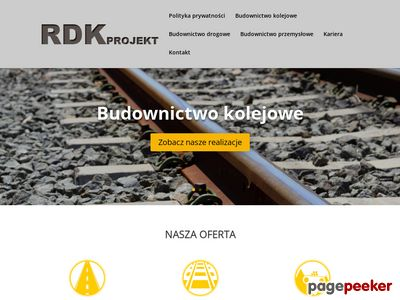 RDK - projekty drogowe