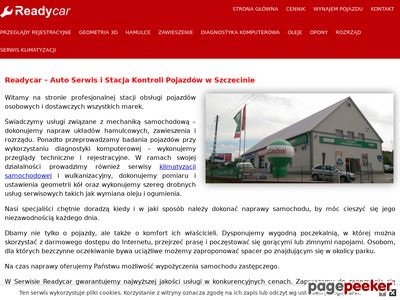 Ready Car pierwsze badanie techniczne Szczecin