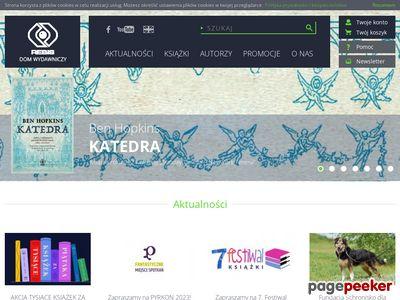 Wydawnictwo Rebis z Poznania zaprasza do zakupu książek online