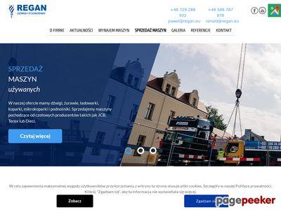 REGAN.eu - wynajem dźwigów