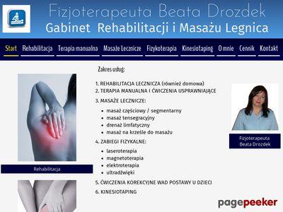 Prawidłowy przebieg masażu leczniczego.