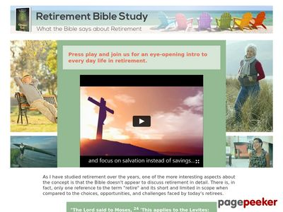 What the Bible says about retirement