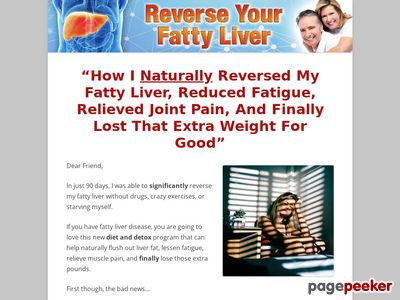 How I Reversed And Healed My Fatty Liver – Reverse Your Fatty Liver