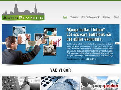 Aros Revision - En till WordPress-webbplats - http://www.revisorvasteras.se