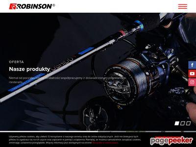 Robinson - wędki, zanęta, kołowrotki, sprzęt wędkarski