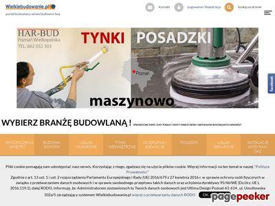 ROBOTY ZIEMNE i BUDOWLANE usługi koparką