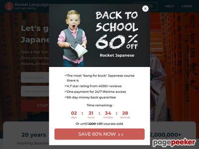 Rocket Japanese Premium - Learn Japanese Today