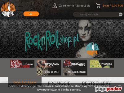 Rocknroll shop - Odzież muzyczna