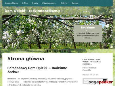 Dom opieki Kraków