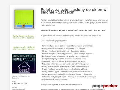 Rolety sprzedaż Poznań