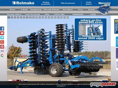 Rolmako producent maszyn rolniczych