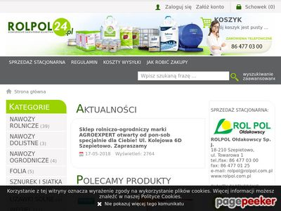 Www.rolpol24.pl - sznurek i siatka