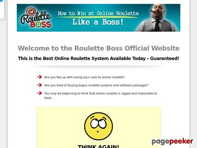 Roulette Boss – How To Win At Online Roulette Like a Boss! – Welcome To The Roulette Boss Official Website!