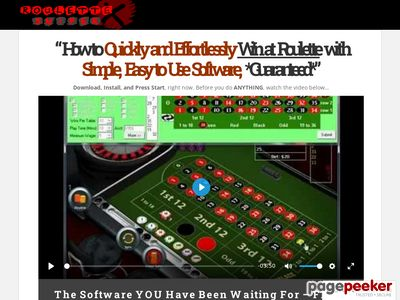 Roulette System – Winning Roulette Strategy – Online Roulette Software