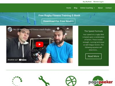 Home – Rugby Fitness Training