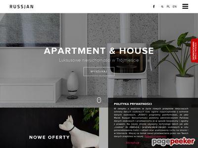 RUSSJAN - luksusowe mieszkania i apartamenty w Trójmieście