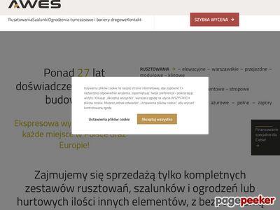 Polsprzęt - Rusztowania, Szalunki, Plettac