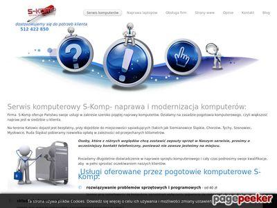 Naprawa komputerów Katowice S-Komp