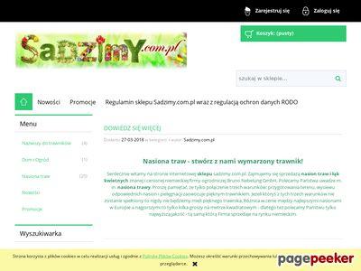 Nasiona kwiatów i mieszanki ziaren- sadzimy.com.pl