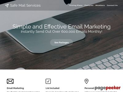 Safe Mail Services - Safe eMail Marketing - Email Lists