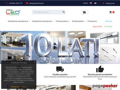 Oprawy sufitowe, kinkiety LED, łazienkowe - SalonLED