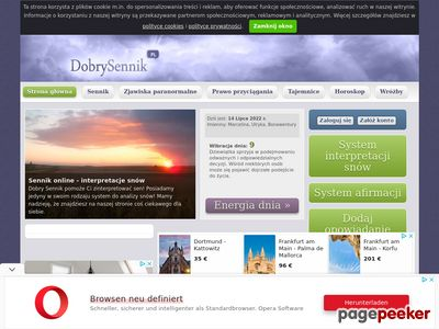 Portal ezoteryczny z wróżbami i horoskopami