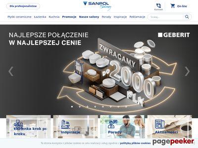 Sanpol Sp. z o.o ekspozycje łazienek