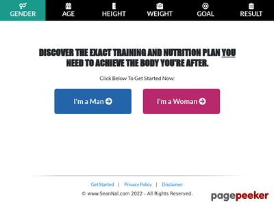 Free Interactive Muscle Building & Fat Loss Video Presentation