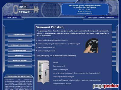 Mechaniczne zabezpieczenia specjalistyczne - serwis