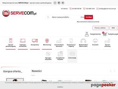 Servecom.pl do -70% ceny początkowej