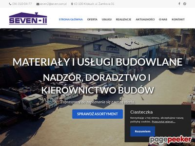 SEVEN-II Materiały i usługi budowlane
